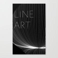 Line Art Canvas Print