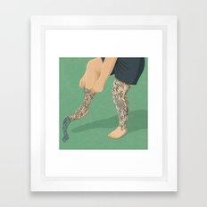 Tattoos Framed Art Print