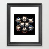 Hello Family Framed Art Print