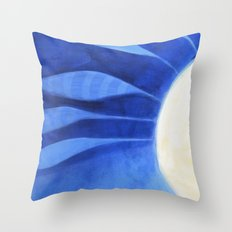 the feathers Throw Pillow