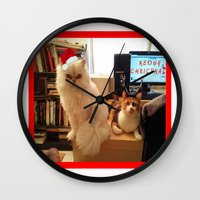 LES CATASTROPHES XMAS ED… Wall Clock