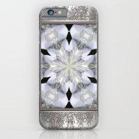 White Arctic Queen Kaleidoscope iPhone 6 Slim Case