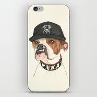 Boxer dog - F.I.P. - @chillberg (#pukaismyhomie)  iPhone & iPod Skin