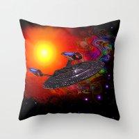 Enterprise NCC 1701E Throw Pillow