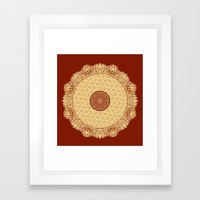 Mandala 8 Framed Art Print