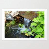 Waterfall Art Print