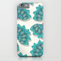 iPhone Cases featuring Colorful Leaves 3 by Klara Acel