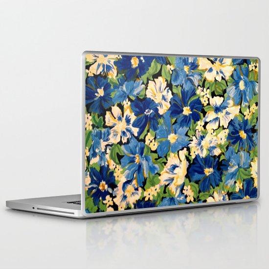 Flower Fabric Laptop & iPad Skin