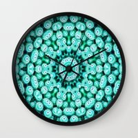 Cactus Star Wall Clock