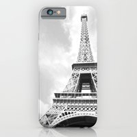 eiffel iPhone & iPod Cases featuring Eiffel by Fallon Chase