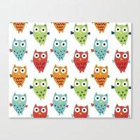 Owl Fun Canvas Print