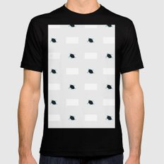 infinituplets Black Mens Fitted Tee SMALL