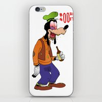 Booze Goofy iPhone & iPod Skin