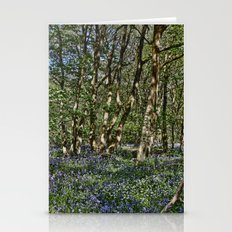 Bluebells in the woods Stationery Cards