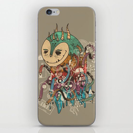 The Doodler iPhone & iPod Skin