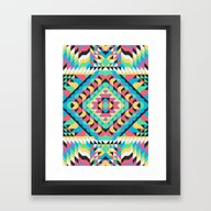 Not Another Pattern I Framed Art Print