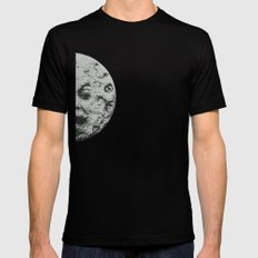 Georges Méliès A Trip To The Moon Black Mens Fitted Tee SMALL