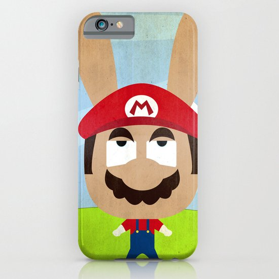 We are all rabbits \ Mario iPhone & iPod Case