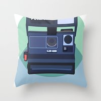 Paper Cups And Nervous H… Throw Pillow