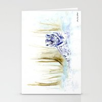 Frost Tiger Stationery Cards