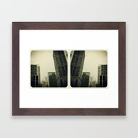Dwntwn Framed Art Print