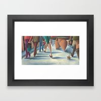 The Fat Lady Framed Art Print