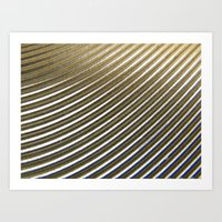 SWIRL METAL PATTERN Art Print