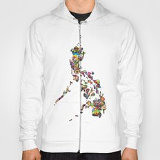 7,107 Islands | A Map of the Philippines Hoody