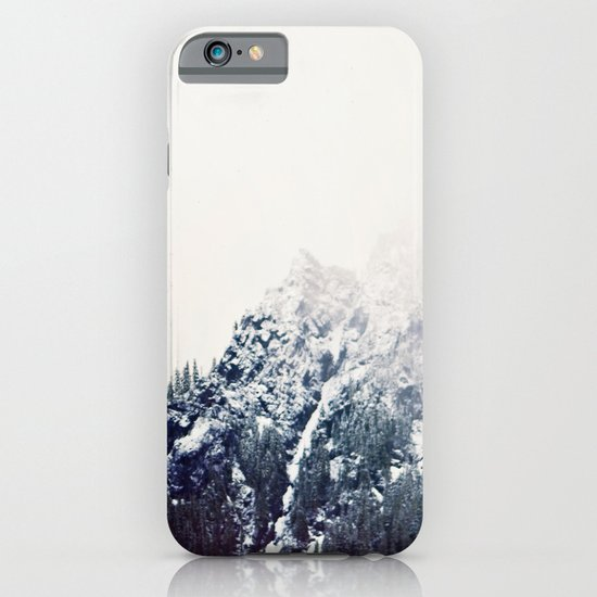 Vintage Snowy Mountain iPhone & iPod Case