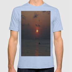 SUN Mens Fitted Tee Athletic Blue SMALL