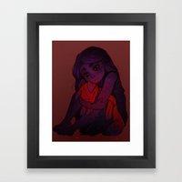 Plush Framed Art Print