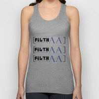bracketed Unisex Tank Top