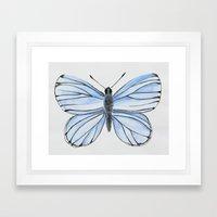 Spring Azure Framed Art Print