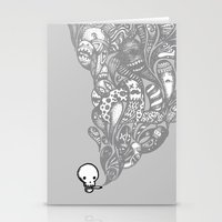 GHOST SMOKE Stationery Cards