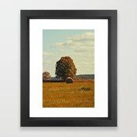oh hay 2 Framed Art Print