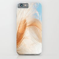 iPhone & iPod Case featuring light as a feather by Tanja Riedel