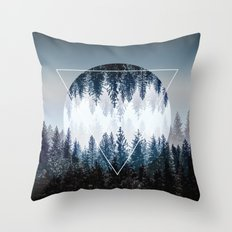 Woods 4 Throw Pillow
