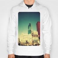 Chicago Retro Skyline ~ architecture Hoody