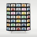 Rainbow Tapes Shower Curtain