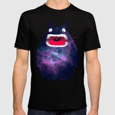 My Neighbor Cosmos Mens Fitted Tee SMALL Black