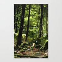 Hey! Canvas Print
