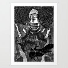 God of Birds Art Print