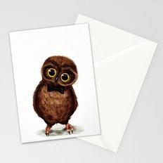 Owl III Stationery Cards