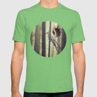 Let me go Mens Fitted Tee Grass SMALL