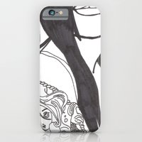 Girl With a Mermaid Tattoo iPhone 6 Slim Case