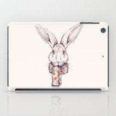 Bunny and scarf iPad Case