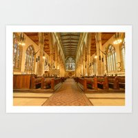Holy Trinity Church Hull Art Print