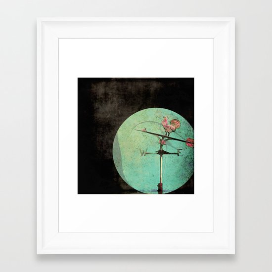The Tale of a Weathervane Framed Art Print