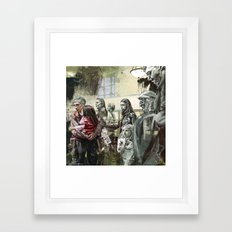 Untitled Stares Framed Art Print