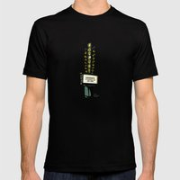 The Garland Theater, Spokane, WA Mens Fitted Tee Black SMALL